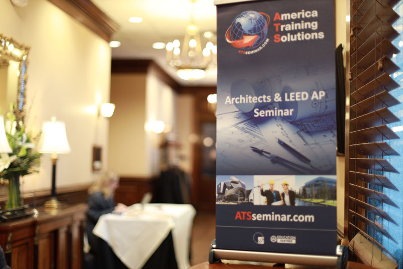 ALUMINTECHNO LLC SPOKE UP AT CONTINUING EDUCATION SEMINAR FOR ARCHITECTS & LEED